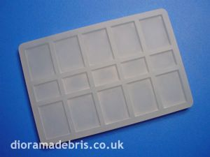 1:24 Scale 600 x 450 Paving Slabs Mould (1240076)